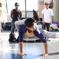 Bonebreaking dance crew takes over Hollywood